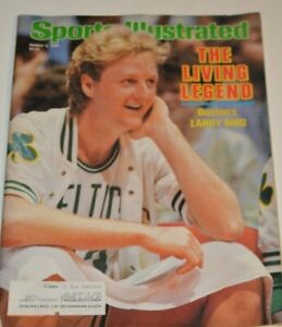 Larry Bird Sports Illustrated March 3 1986 Vintage Magazine