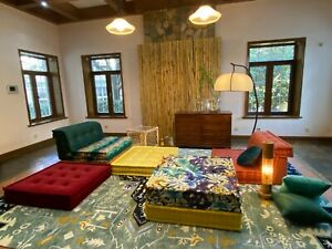 Designer Inspired Sectional Composition Custom Handmade Sofa Armchair Element