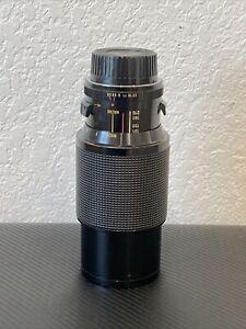 Vivitar Series 1 70-210mm f/3.5 Macro  f/ Nikon Pre-AI MF Lens.
