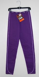 NWT Terramar Girls Genesis Purple Fleece Base Layer Leggings #W8771 sz S
