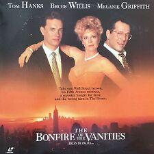 BONFIRE OF THE VANITIES (THE) CC NTSC LASERDISC Tom Hanks, Bruce Willis