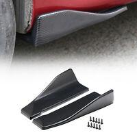 Fibra Di Carbonio Crash Protezione Paraurti Auto Profilo Spoiler Angel Splitter