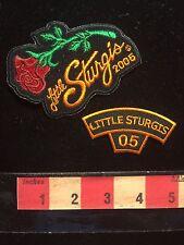 2005 Biker Patch Lot RED ROSE LITTLE STURGIS Kentucky Motorcycle 66E0
