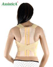 Assistica® Medical Lower Lumbar Posture Corrector Back Supports, 2 Splint Brace