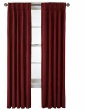 *Royal Velvet Supreme Pinch-Pleat/Back-Tab Thermal 25X84 French Cabernet NEW