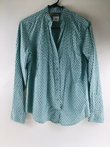 Columbia Womens size Large Shirt XCO, Pearl Snap Buttons, Button Down Floral