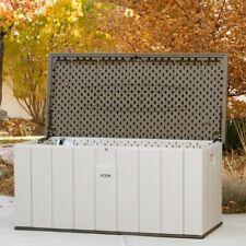 Outdoor Storage Box Home Deck Pool Patio Garden Waterproof 150 Gallon Container