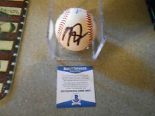 MIKE TROUT SIGNED LOS ANGELES ANGLES BASEBALL/BECKETT