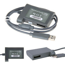 Hard Drive HDD Data Transfer USB Cord Cable Lead Kit Link for Microsoft Xbox 360