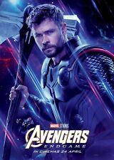 Avengers Endspiel Film Poster - 11 X 17 - Thor Poster (B) Chris Hemsworth