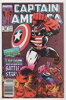 Captain America #349 (Jan 1989, Marvel) Newsstand [Flag Smasher] Kieron Dwyer j