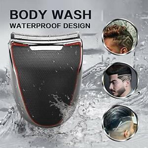 Cordless Hair Clipper Waterproof Beard Trimmer Curved Blade for Men