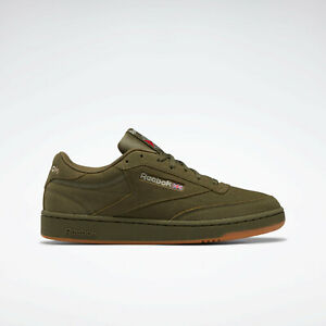Reebok Classics Club C 85 Shoes Suede Shoes Green