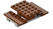BN Lego Brown Picnic Table Seats MiniFigures Scenery Furniture mini figs figures