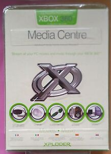 XPLODER MEDIA CENTRE for use with XBOX 360 brand new & sealed STREAM YOUR MOVIES