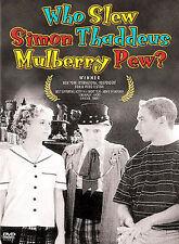 Who Slew Simon Thaddeus Mulberry Pew?, New DVD, Lisette Bross, John Kassir, Armi