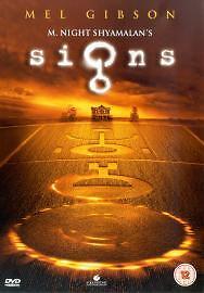 Signs (DVD, 2003) Mel Gibson