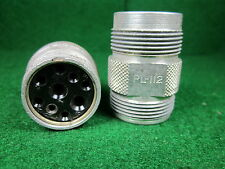 (1) PL-112 Connector for BC-461 & RL-42 Antenna Reel NOS Military