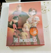 The Incredibles Blu-ray Steelbook Lenticular Kimchidvd Limited Edition #585/1300