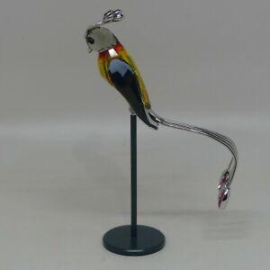 Daniel Swarovski Crystal Paradise Bird Banamba Fire Opal 275570 Boxed