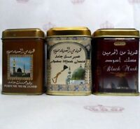 3× Hemani  musk jamid Solid Perfume & Amber & Black musk Halal Fragrance Arabic