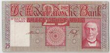 Netherlands 25  gulden 1941 High Grade!!!