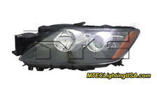 TYC NSF Left Driver Side Halogen Headlight Assembly for Mazda CX-7 2010-2011