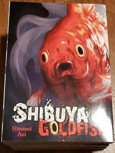 Shibuya Goldfish Manga Lot Set (Vol. 1-4) by Hiroumi Aoi Yen Press