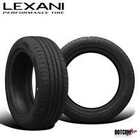 2 X New Lexani LXTR-203 185/60R15 84H High Performance All-Season Tires