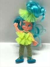 Vintage Spinderella Flatsy Blue Hair Ideal Doll No. 0154-5 *New Condition*