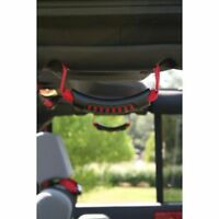 For Jeep Wrangler Jk 07-17 New Ultimate Rear Grab Handle Pair Red X 13305.15