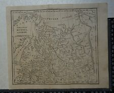 1805 - Northern Part of Russia in Europe Map by William Darton
