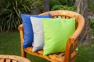 Garden Scatter Cushion Waterproof Outdoor Seat Bench Memory Foam Removable Cover