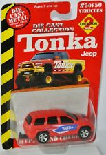 Maisto / Tonka #5 - JEEP GRAND CHEROKEE - red/graphics - DieCast Collection 2000