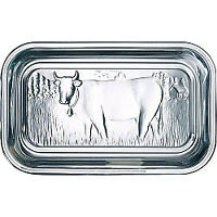 Luminarc Glass Cow Butter Dish with Lid