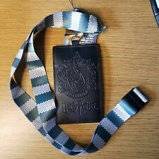 Harry Potter Slytherin Scarf Lanyard with card holder
