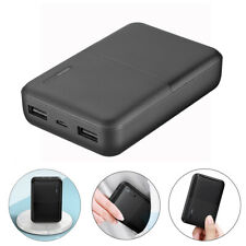 20000mAh Slim Power Bank Dual USB Portable External Battery Charger for iPhone