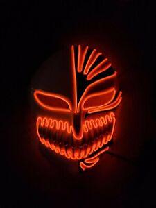 Bleach Anime Handmade Glow Mask