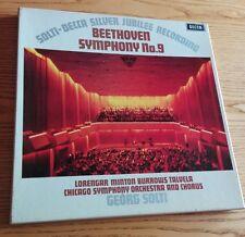 Beethoven Symphony 9-Georg Solti Box 2Lp Decca