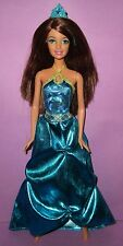 Barbie Princess Charm School Hard to Find Hadley Blue Dress Doll for OOAK Play!