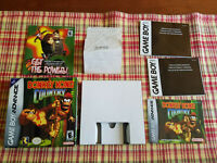 Donkey Kong Country - Authentic - Nintendo Game Boy Advance - Box / Manual Only!