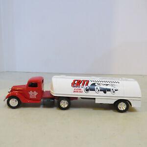 """Ertl '37 Ford Semi& Tanker """"Hi-Octane Racing Fuels"""" Bank 1/43 DW-9066-B"""