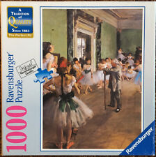 Ravensburger Puzzle Degas The School of Dance 1000 Pieces Gently Used + Complete