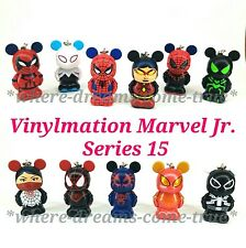 Vinylmation Marvel Jr. Series 15 Spiderman Set of 11 No chaser (NEW)