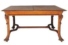 Table de salon Art nouveau 1900 en chêne