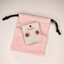 NEW! Kate Spade New York Rise and Shine Stud Collection Earrings Coral Pink