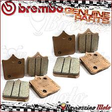 8 PLAQUETTES FREIN AVANT BREMBO FRITTE TRIUMPH SPEED TRIPLE ABS 1050 2011