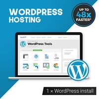 High Performance UK Managed WordPress Hosting‎ with Free SSL CDN & More - 1 Year