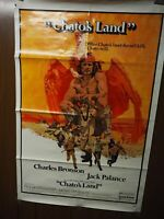 "Chato's Land Charles Bronson, Jack Palance,1972 One Sheet Poster 27"" x 40"""