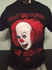 STEVEN King IT Horror movie BOOK Novel Insane PENNYWISE The CLOWN MEN'S T-Shirt